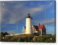 Nobska Lighthouse Cape Cod Acrylic Print