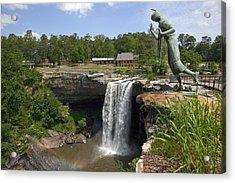 Noccalula Falls In Gadsden Acrylic Print
