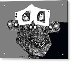 Noctis No. 4 Acrylic Print by Mark M  Mellon