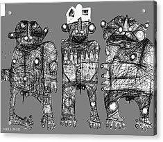 Noctis No. 6 Acrylic Print by Mark M  Mellon