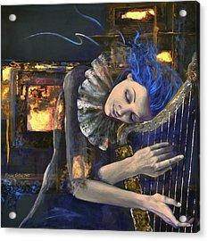 Nocturne Acrylic Print by Dorina  Costras