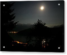 Nocturne In Switzerland Acrylic Print