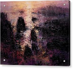 Nocturne Acrylic Print by R W Goetting