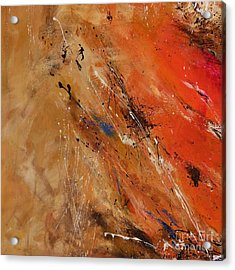Noise Of The True Feelings - Abstract Acrylic Print by Ismeta Gruenwald