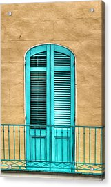 Nola Balcony Acrylic Print by Brenda Bryant