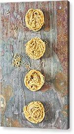 Noodles Acrylic Print