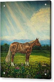 Noon Day Repose Acrylic Print by Sharon Avery