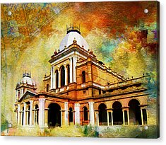 Noor Mahal Acrylic Print by Catf