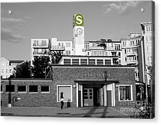 Acrylic Print featuring the photograph Nordbahnhof Station In Berlin by Art Photography