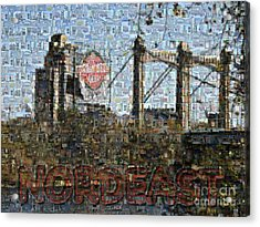 Nordeast Mosaic Acrylic Print
