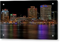 Norfolk Virginia Skyline Acrylic Print