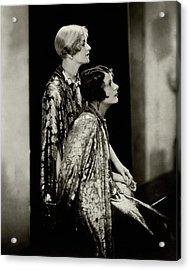 Norma And Constance Talmadge Acrylic Print