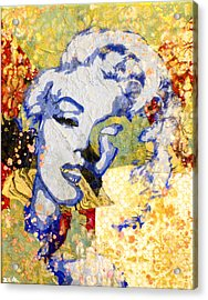 Norma Jean Be Fading Fast Acrylic Print by Bobby Zeik