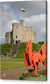 Norman Keep Cardiff Castle Acrylic Print