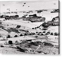 Normandy Acrylic Print by Benjamin Yeager
