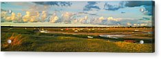 Normandy Sunset Vi Acrylic Print by Maciej Markiewicz
