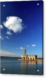 Normanton Church, Rutland Water Acrylic Print