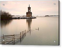 Normanton Church Sunset Acrylic Print