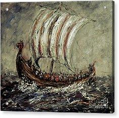 Norse Explorers Acrylic Print