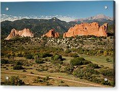 North America, Usa, Colorado Springs Acrylic Print