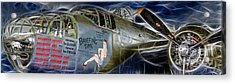 North American B-25 Mitchell Bomber  Acrylic Print by Lee Dos Santos