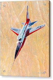 North American F-107a Ultra Sabre Acrylic Print