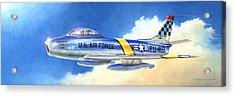 North American F-86f Sabre Acrylic Print