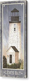 North American Lighthouses - Lewis Bay Acrylic Print
