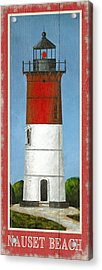 North American Lighthouses - Nauset Acrylic Print by Gail Fraser