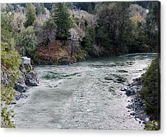 North And Middle Fork Of Smith River 2 Acrylic Print