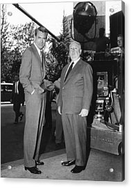North By Northwest, From Left Cary Acrylic Print