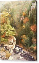 North Carolina Autumn Majesty Acrylic Print