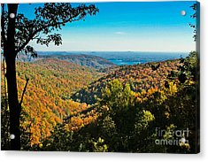 North Carolina Fall Foliage Acrylic Print