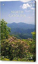 North Carolina Mountains Acrylic Print