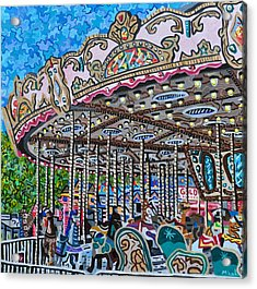North Carolina State Fair Acrylic Print by Micah Mullen