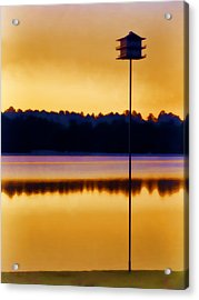 North Carolina Sunrise Acrylic Print