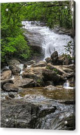 North Carolina Waterfall Acrylic Print