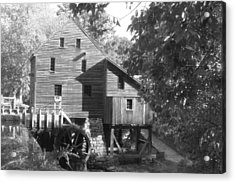 North Carolina Watermill Acrylic Print by Dwight Cook