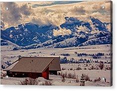 North Cascades Mountain View Acrylic Print