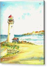 North Coast Light House Acrylic Print by David Patrick