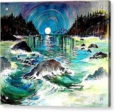 North Coast Sea Acrylic Print