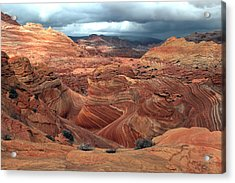 North Coyote Buttes Acrylic Print