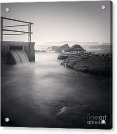 North Curl Curl Rockpool Sydney Acrylic Print by Colin and Linda McKie