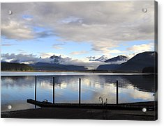 Acrylic Print featuring the photograph North Douglas Reflections by Cathy Mahnke