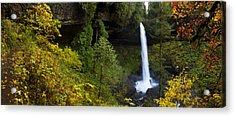 North Falls Panorama Acrylic Print
