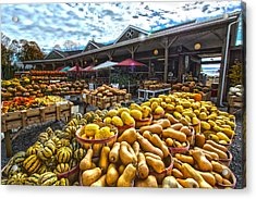 North Fork Farmstand Acrylic Print