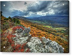 North Fork Mountain Overlook Acrylic Print