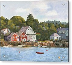 North Haven Island Maine Acrylic Print by Tommy Thompson