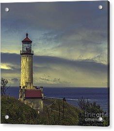 North Head Lighthouse Acrylic Print by Jean OKeeffe Macro Abundance Art