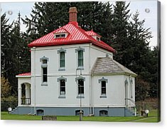 Acrylic Print featuring the photograph North Head Lighthouse Keepers Quarters by E Faithe Lester